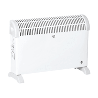 Convettore mobile elettrico EQUATION Lady 2T bianco 2000 W