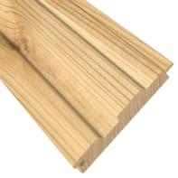 Perlina singola per composizione eagle in legno H 12  x L 125 cm