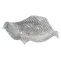 Plafoniera barocco Rumba trasparente, in acciaio, 20x72 cm, 9  luci