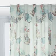 Tenda Coniglietto multicolor passanti nascosti 200 x 270 cm