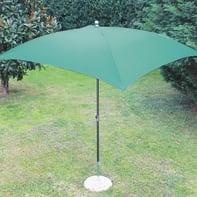 Ombrellone Poli L 2.25 x P 1.9 m color verde