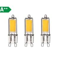 Lampadina LED G9 capsula bianco naturale 2W = 250LM (equiv 20W) 360° LEXMAN