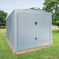 Garage in acciaio al carbonio Boston SAPIL 10.57 m², Sp 0.4 mm