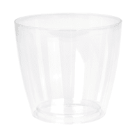 Vaso Sanremo ARTEVASI in polipropilene colore trasparente H 11.5 cm, Ø 12 cm