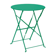 Tavolo da giardino rotondo Color con piano in ferro Ø 60 cm