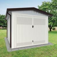 Garage in acciaio al carbonio Chicago 13.56 m², Sp 40 mm