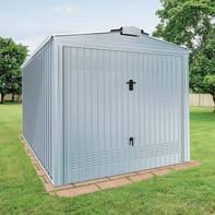 Garage in acciaio al carbonio Boston SAPIL 20.19 m², Sp 0.4 mm