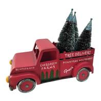 Camion con albero in metallo