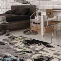 Tappeto Metropolitan Nyc , grigio scuro, 133x190 cm