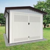 Garage in acciaio al carbonio Newport SAPIL 11.33 m², Sp 40 mm