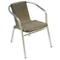 Sedia in alluminio CC 29 colore avana