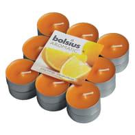 Candela profumata BOLSIUS essenza arancia  Ø 3.1 cm H 3.1 cm, 18 pezzi