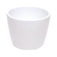 Portavaso Stella in ceramica colore bianco H 25.4 cm, Ø 29 cm