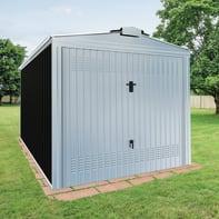 Garage in acciaio al carbonio Orlando SAPIL 14.92 m², Sp 0.6 mm