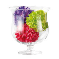 Vaso in vetro Hobo H 21 cm Ø 19.5 cm