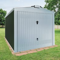 Garage in acciaio al carbonio Orlando SAPIL 20.19 m², Sp 0.6 mm