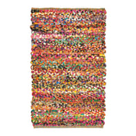 Tappeto Pizzicato in cotone, multicolor, 120x180 cm