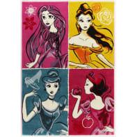 Tappeto Princess ladies , multicolor, 133x190 cm