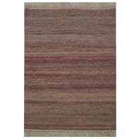 Tappeto Kilim lana , tessuto a mano, rosso, 60x90 cm