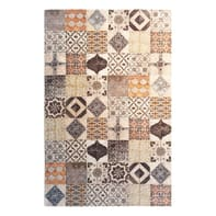 Tappeto Modern kilim multicolor 155x230 cm