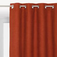 Tenda INSPIRE New Manchester arancione occhielli 140 x 280 cm