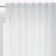 Tenda INSPIRE New silka bianco fettuccia con passanti nascosti 200 x 280 cm