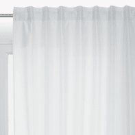 Tenda INSPIRE New Silka bianco fettuccia e passanti 200 x 280 cm