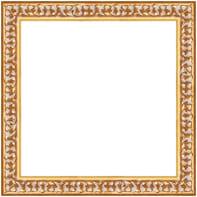 Cornice INSPIRE Baroque oro per foto da 20x20 cm