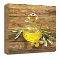 Quadro in legno Olive Oil 30x30 cm