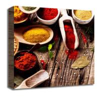 Quadro in legno Spices 30x30 cm