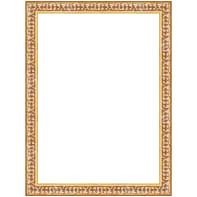 Cornice INSPIRE Baroque oro per foto da 25X35 cm