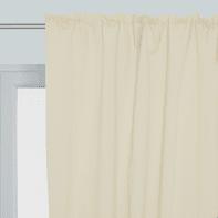 Tenda Oscurante avorio fettuccia con passanti nascosti 140 x 350 cm