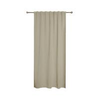Tenda INSPIRE Oscurante beige fettuccia con passanti nascosti 140 x 280 cm