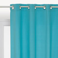 Tenda INSPIRE Helena azzurro anelli 140 x 280 cm