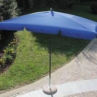 Ombrellone Poli L 2.2 x P 1.2 m color blu
