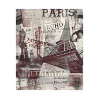 Carta da parati Parigi bordeaux