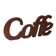 Scritta Caffè 55x20 cm