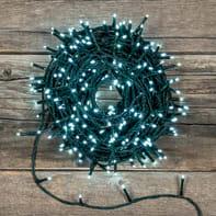Catena luminosa 1000 lampadine LED bianco freddo 7040 cm