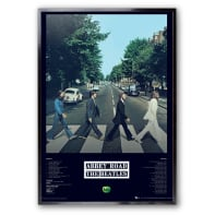 Stampa incorniciata Beatles 60x90 cm