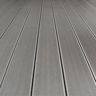 Asse da terrazzo NATERIAL Kyoto 245 pezzi in composito grigio L 220 x H 14.5 cm, Sp 21 mm