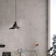 Piastrella per rivestimenti Decor london 25 x 75 cm sp. 9 mm grigio