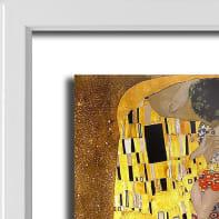 Quadro con cornice Klimt 45.5x55.5 cm