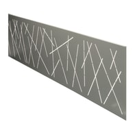 Inserto COMPOSITE PREMIUM Premium XL Design grigio 148.3 x 37 cm