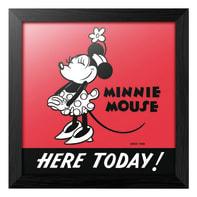 Quadro con cornice Minnie 90 Disney 34.8x34.8 cm