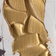 Pasta rilievo metallo dorato