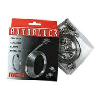 Fascetta metallica Autoblock Metallo 3000 x