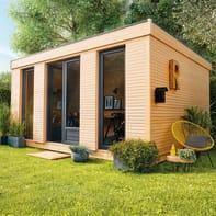 Casetta da giardino in legno Decor Home 15 15.25 m² spessore 19 mm