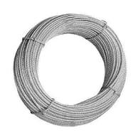 Cavo in acciaio zincato Ø 4 mm x 25 m