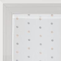 Tendina vetro Chloe bianco tunnel 60 x 240 cm