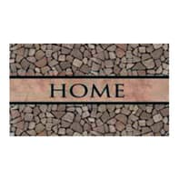 Zerbino Eco Home in caucciù multicolore 45x75 cm